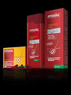 Fitoval for damaged hair