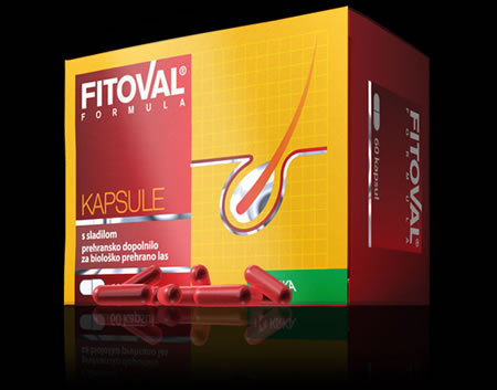Capsules Fitoval formula< for damaged hair