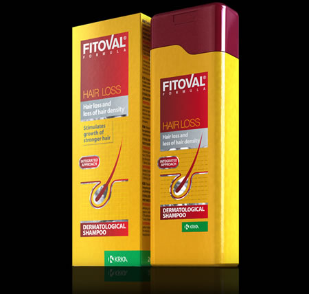 Fitoval - Anti hair loss dermatological shampoo